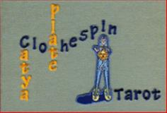 Clothespin Tarot 9780979501500