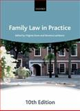 Family Law in Practice, City Law School Staff, 0199641501