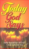 Today God Says, Clift Richards, 0932081509