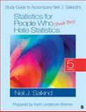 Statistics for People Who (Think They) Hate Statistics 5th Edition
