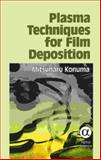 Plasma Tech for Film Deposition, Konuma, Mitsuharu, 184265151X