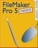FileMaker Pro 5 Companion, Langer, Maria, 012436151X