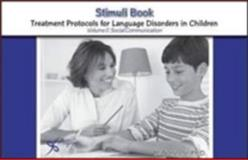 Stimulus Book for Treatment Protocols for Language Disorders in Children, Hegde, M. N., 1597561517