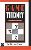Game Theory, Owen, Guillermo, 0125311516
