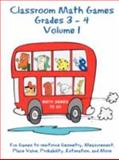 Classroom Math Games Grades 3 - 4 Volume 1, Tommy Hall and Jan Hall, 1435701518