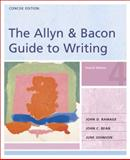 The Allyn and Bacon Guide to Writing : Concise Edition, Ramage, John D. and Bean, John C., 0321291522