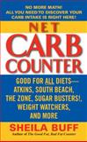 Net Carb Counter, Sheila Buff, 0060821523