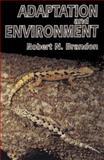 Adaptation and Environment 9780691001524
