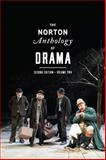 The Norton Anthology of Drama, Gainor, J. Ellen and Garner, Stanton B., Jr., 0393921522