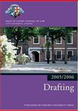 Drafting 2005/2006, Inns of Court School of Law Staff, 0199281521