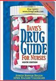 Davis's Drug Guide for Nurses, Deglin, Judith Hopfer and Vallerand, April Hazard, 0803611528
