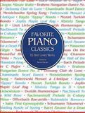 Favorite Piano Classics, Classical Piano Sheet Music, 0486291529