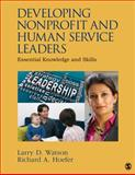 Developing Nonprofit and Human Service Leaders