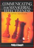 Communicating for Managerial Effectiveness 9780761921530