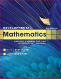 Developmental Mathematics, Bittinger, Marvin L. and Beecher, Judith A., 0321731530
