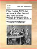 Poor Robin 1725 an Almanack after the Old and New Fashion, William Winstanley, 1170091539