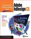 How to Do Everything with Adobe Indesign CS, Bergsland, David, 007223153X