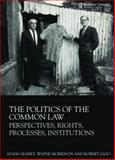 The Politics of the Common Law : Perspectives, Rights, Processes, Institutions, Morrison, Wayne and Gearey, Adam, 0415481538