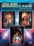 Star Wars Episodes I, II and III Instrumental Solos, John Williams, 0757941532