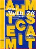 Math 76, Stephen Hake and John Saxon, 1565771532