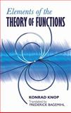 Elements of the Theory of Functions, Knopp, Konrad, 0486601544