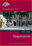 Bar Manual: Negotiation 2005/6, Inns of Court School of Law Staff, 0199281548