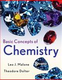 Basic Concepts of Chemistry, Malone, Leo J. and Dolter, Theodore, 047174154X
