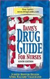 Davis's Drug Guide for Nurses, Deglin, Judith Hopfer and Vallerand, April Hazard, 0803611544