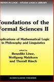 Foundations of the Formal Sciences II : Applications of Mathematical Logic in Philosophy and Linguistics, , 1402011547