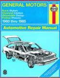 General Motors - Buick Skylark, Chevrolet Citation, Oldsmobile Omega, Pontiac Phoenix:1980 Thru 1985, Rik Paul and John Haynes, 1563921545