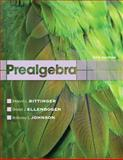 Prealgebra, Bittinger, Marvin L. and Ellenbogen, David J., 0321731549