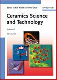 Ceramics Science and Technology : Structures, , 3527311556