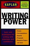 Kaplan Writing Power, Kaplan Educational Center Staff, 0684841568