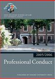 Professional Conduct, Inns of Court School of Law Staff, 0199281564
