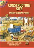 Construction Site Sticker Picture Puzzle, Steven James Petruccio, 0486441563