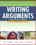 Writing Arguments : A Rhetoric with Readings, Brief Edition, Ramage, John D. and Bean, John C., 0205171567