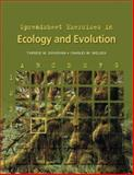 Spreadsheet Exercises in Ecology and Evolution, Donovan, Therese M. and Welden, Charles W., 0878931562