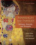 Marriages and Families : Intimacy, Diversity, and Strengths, Olson, David H. and DeFrain, John, 0078111579