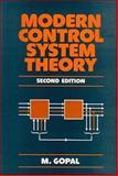 Modern Control System Theory, Gopal, M., 0470221577