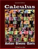 Calculus : Late Transcendentals - Combined, Anton, Howard and Bivens, Irl, 0471381578