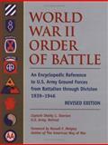 World War II Order of Battle, Shelby L. Stanton, 0811701573