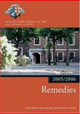 Remedies 2005/6, Inns of Court School of Law Staff, 0199281572