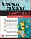 Business Calculus Demystified, Huettenmueller, Rhonda, 0071451579
