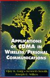 Applications of CDMA in Wireless/Personal Communications, Garg, Vijay and Smolik, Kenneth, 0135721571