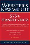 Webster's New World 575+ Spanish Verbs, Elsa Pittman, 0764541579