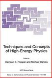 Techniques and Concepts of High-Energy Physics, , 1402001584