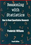 Reasoning with Statistics 9780030531583