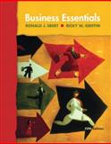 Business Essentials, Ebert, Ronald J. and Griffin, Ricky W., 0131441582