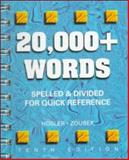 20,000+ Words : Spelled and Divided for Quick Reference, Hosler, Mary M., 0028021584