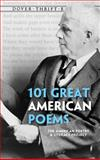 101 Great American Poems, American Poetry and Literacy Staff, 0486401588